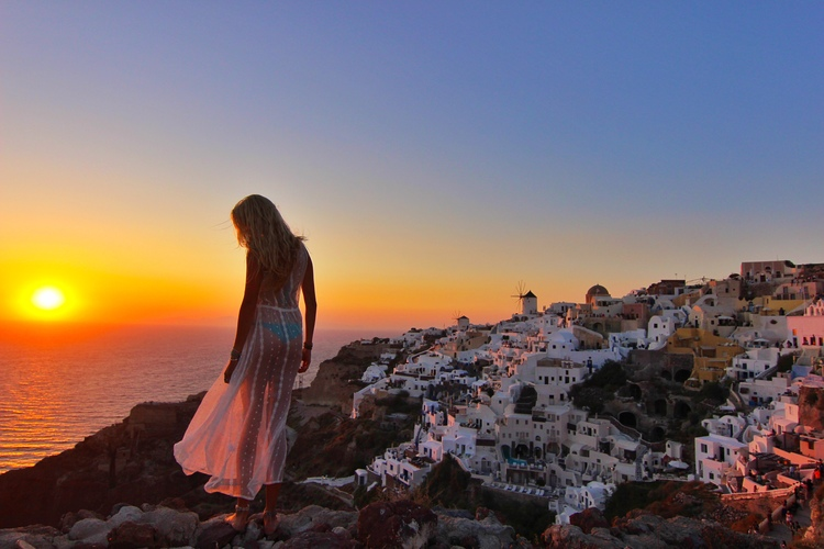 couples coordinates how to get to santorini