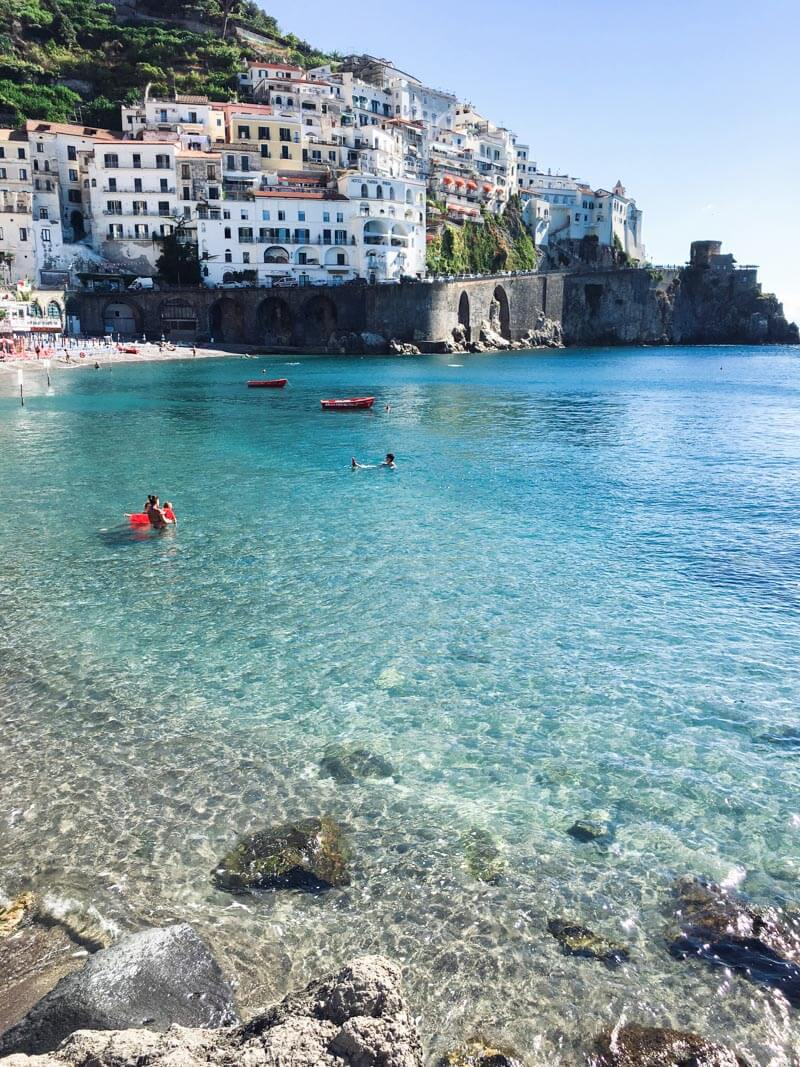 Amalfic Coast, Italy - one of the top Italy vacation spots for your Italy honeymoon