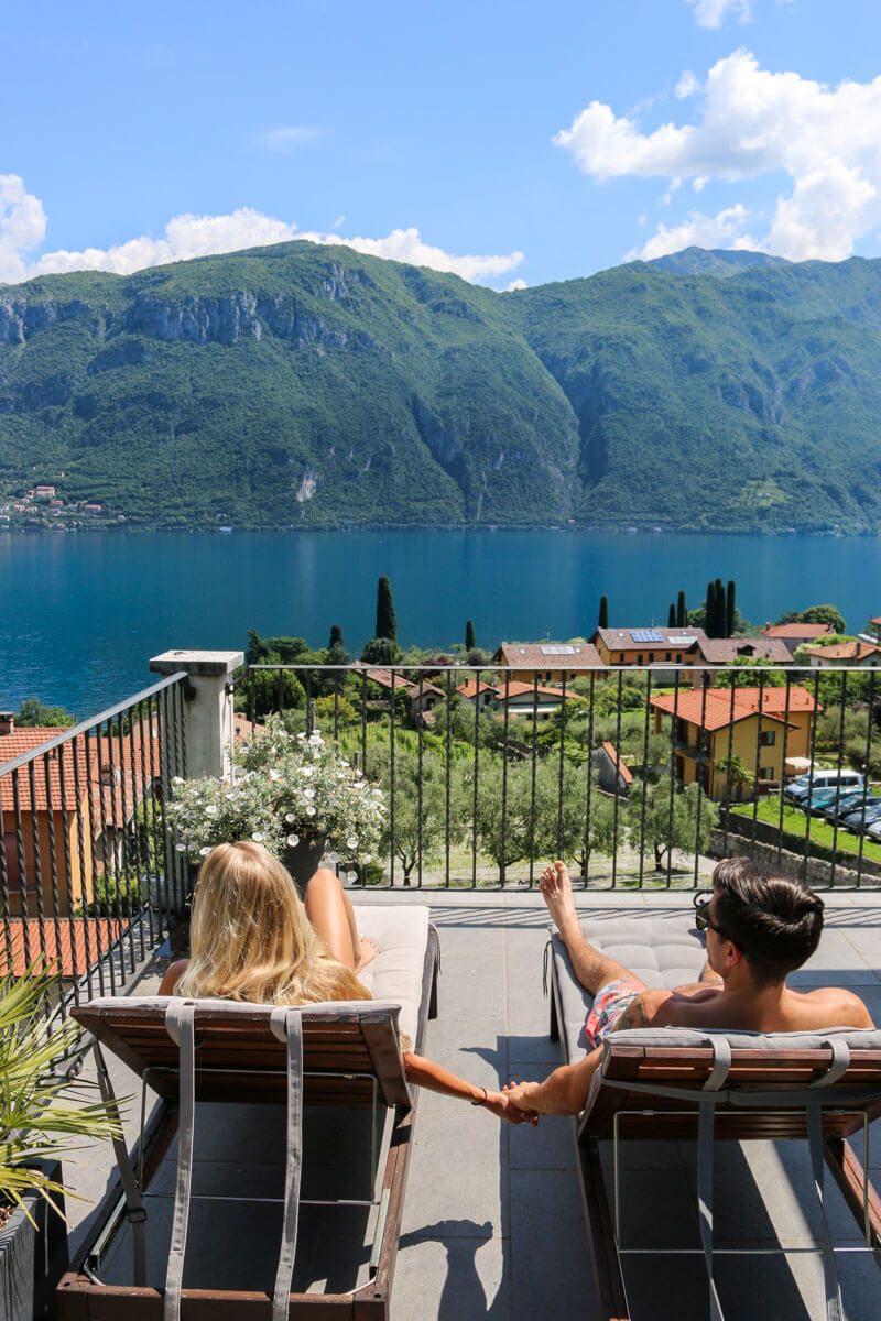 Italy honeymoon itinerary - Bellagio, Lake Como, is one of the best places to visit in Italy on your Italy vacation.