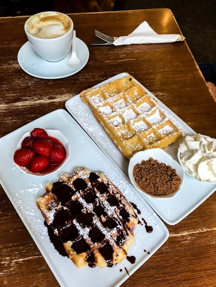 couples coordinates best christmas destinations 2019 brussels waffels