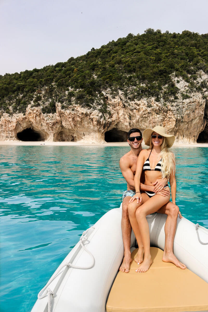 Italy honeymoon destination - Cala Luna near Cala Gonone in Sardinia, Italy - picture perfect spot for your Italy vacation