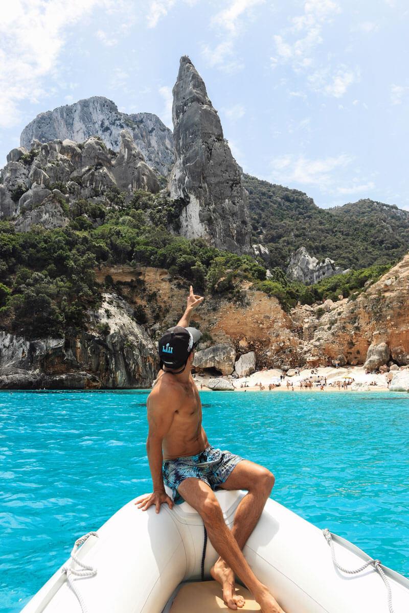 Italy vacation - Cala Goloritze on Sardinia - beautiful place in Italy for your Italy honeymoon