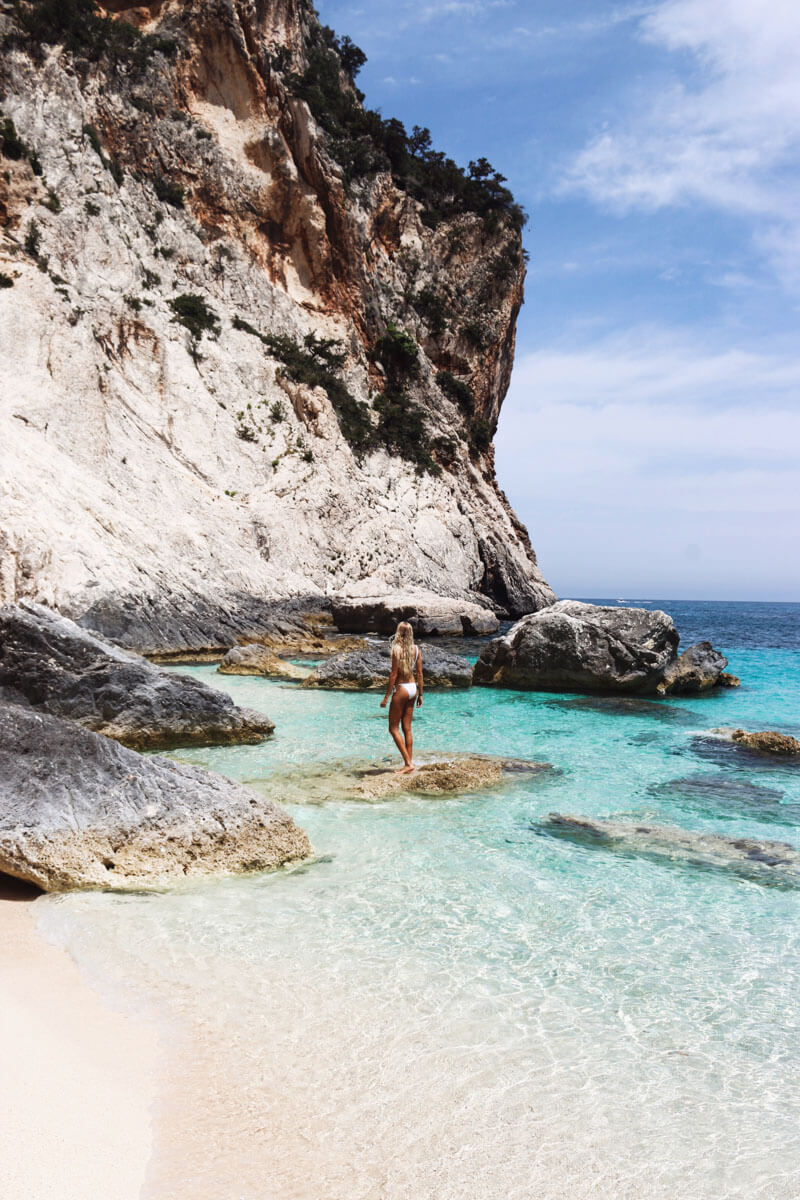 Italy honeymoon destination - Cala Gonone in Sardinia, Italy - beautiful place to visit for your Italy vacation