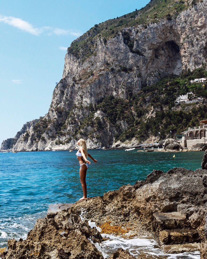Capri, Italy - must visit destination on your Italy vacation and Italy honeymoon itinerary