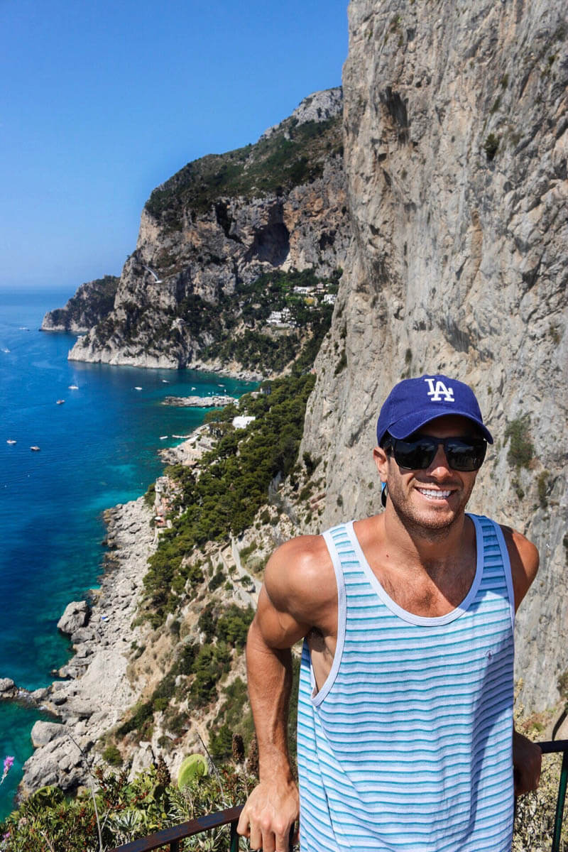 Capri, Italy - one of the top Italy vacation spots, and places to put on your Italy honeymoon itinerary