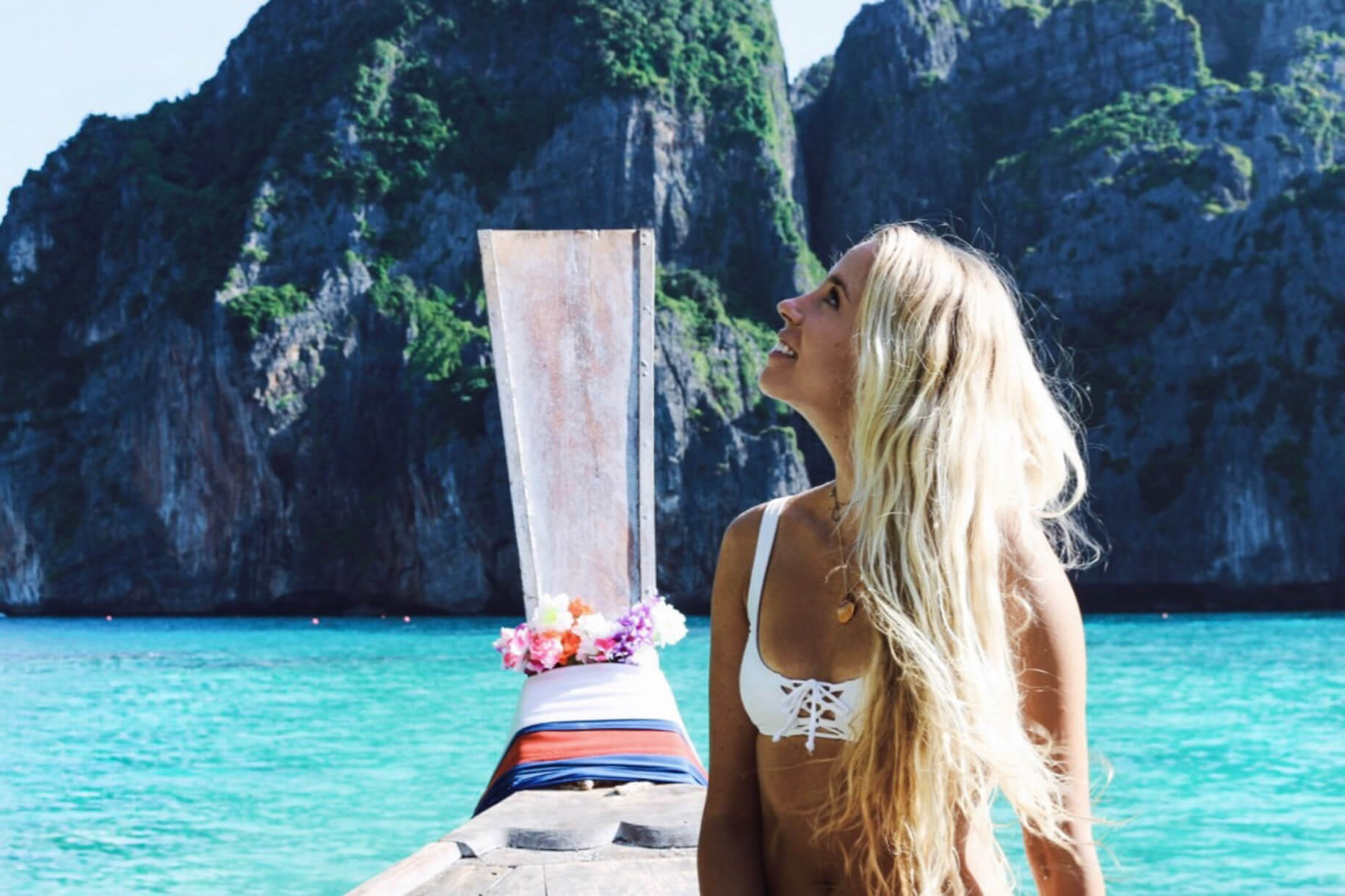 couples coordinates alex on boat koh phi phi krabi thailand