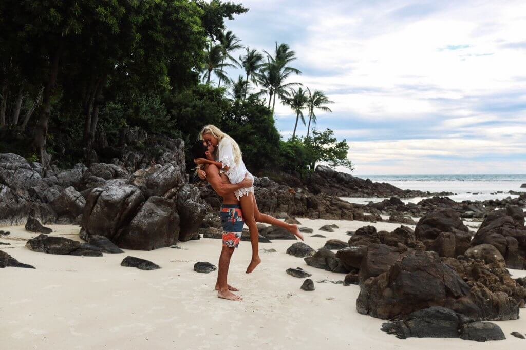couples coordinates less traveled islands koh samui thailand