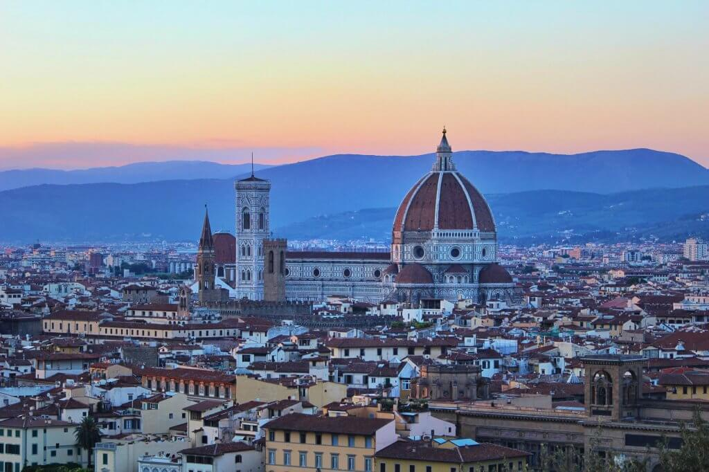 couples coordinates most walkable cities florence italy