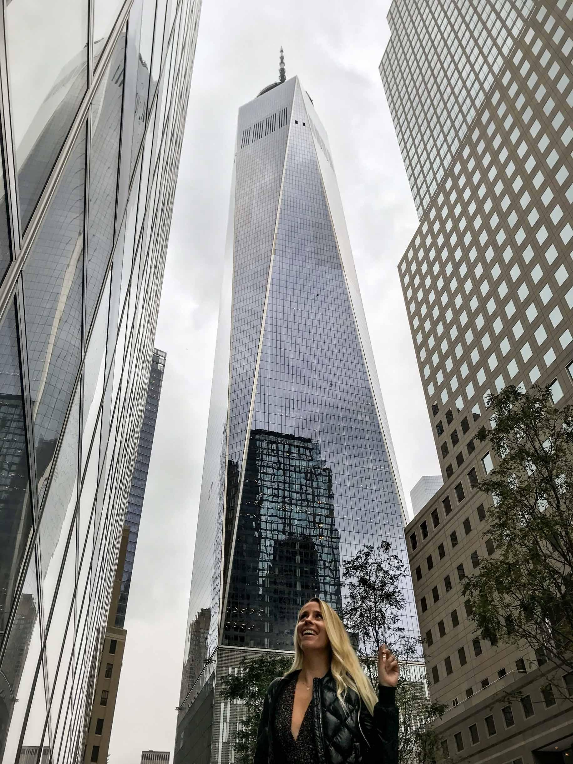 couples coordinates new york city date night one world trade center
