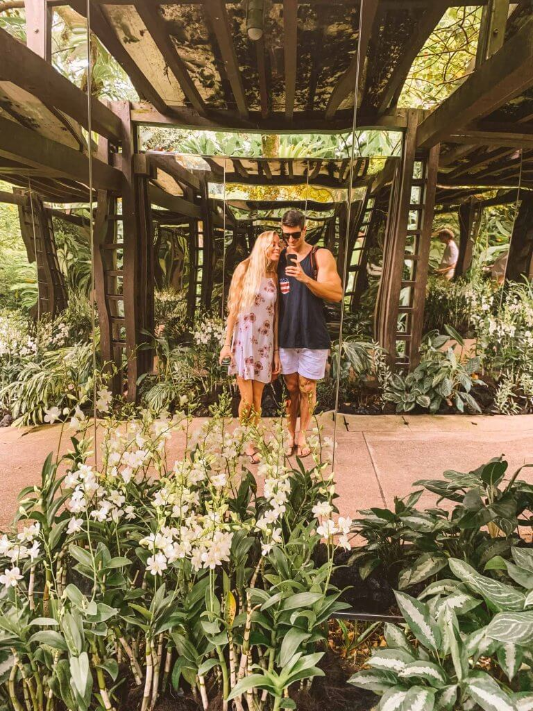couples coordinates things to do in singapore botanic gardens