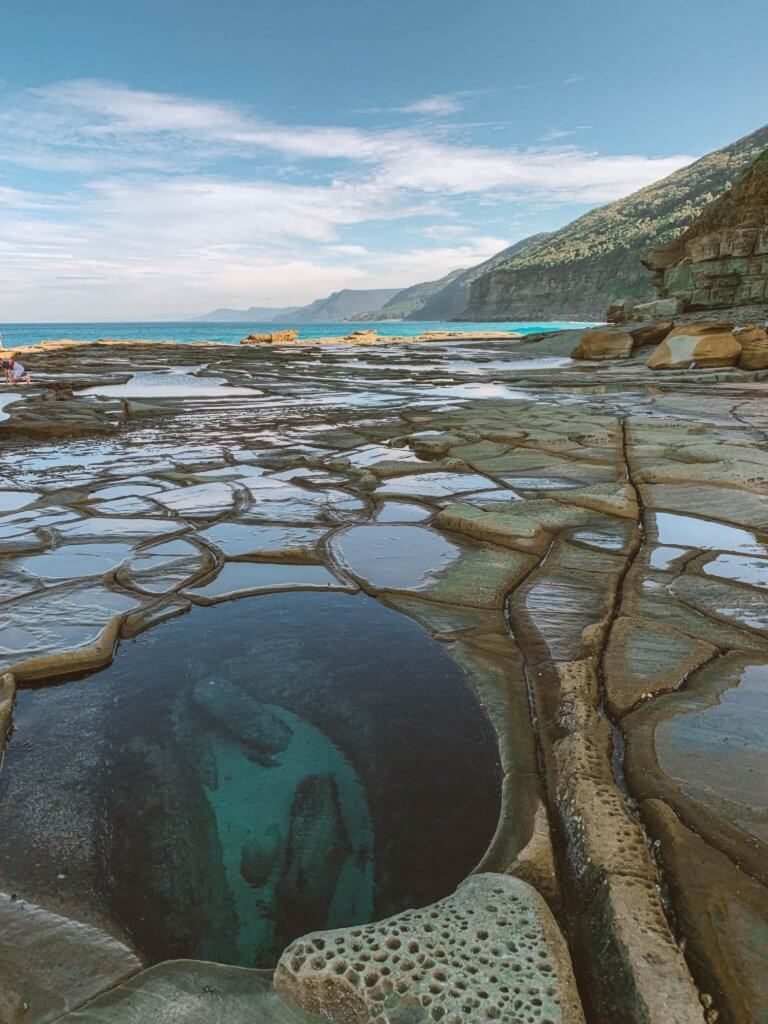 couples coordinates fun things to do in sydney for couples royal national park figure 8 pools