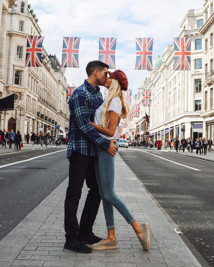 couples coordinates best christmas destinations 2019 london england