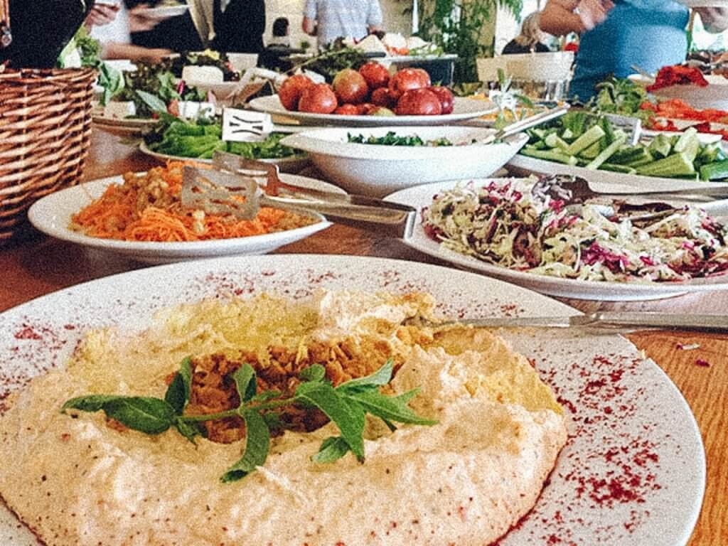 countries with the best food israel
