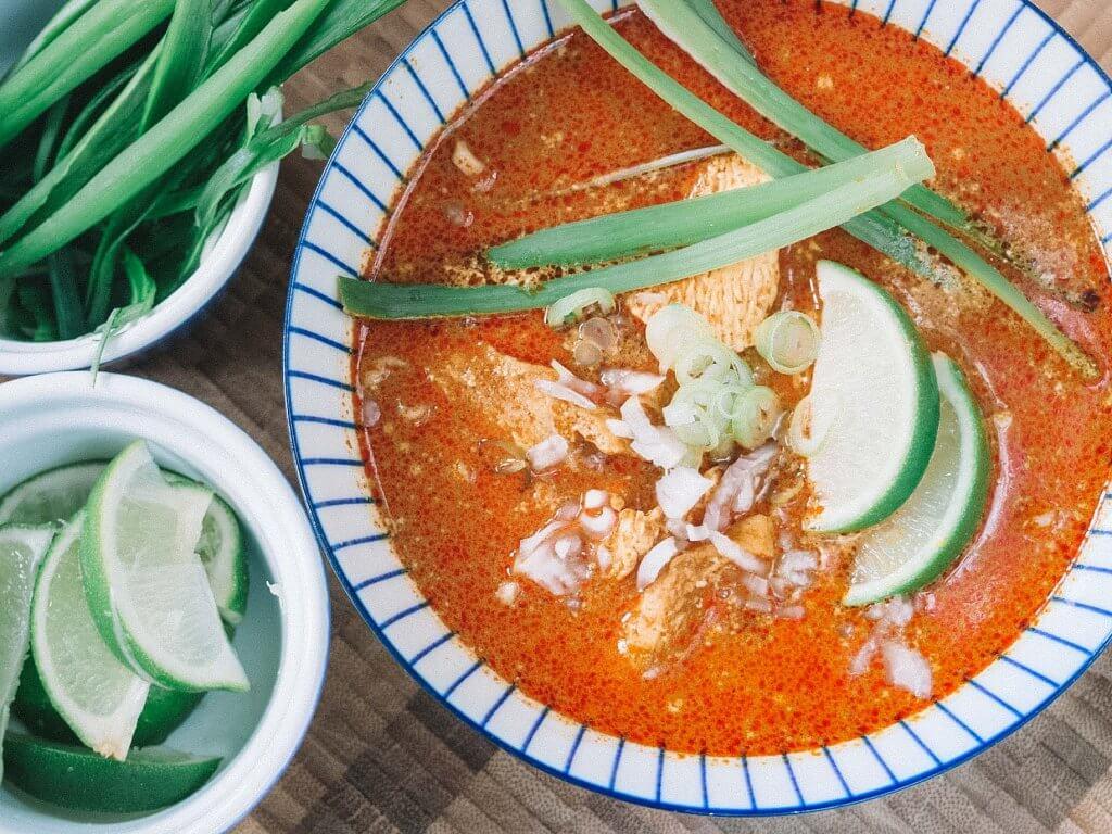thai curry in chiang mai