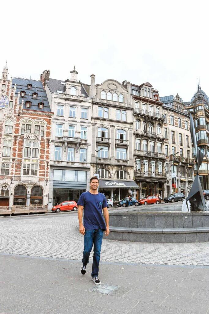 couples coordinates most walkable cities brussels belgium