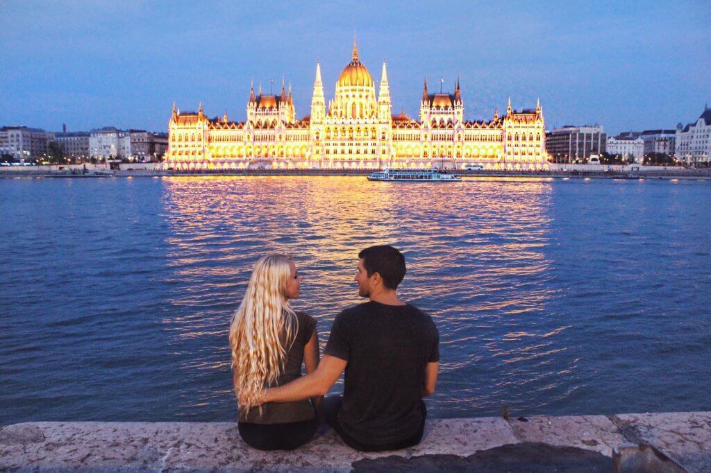 couples coordinates best christmas destinations 2019 budapest hungary