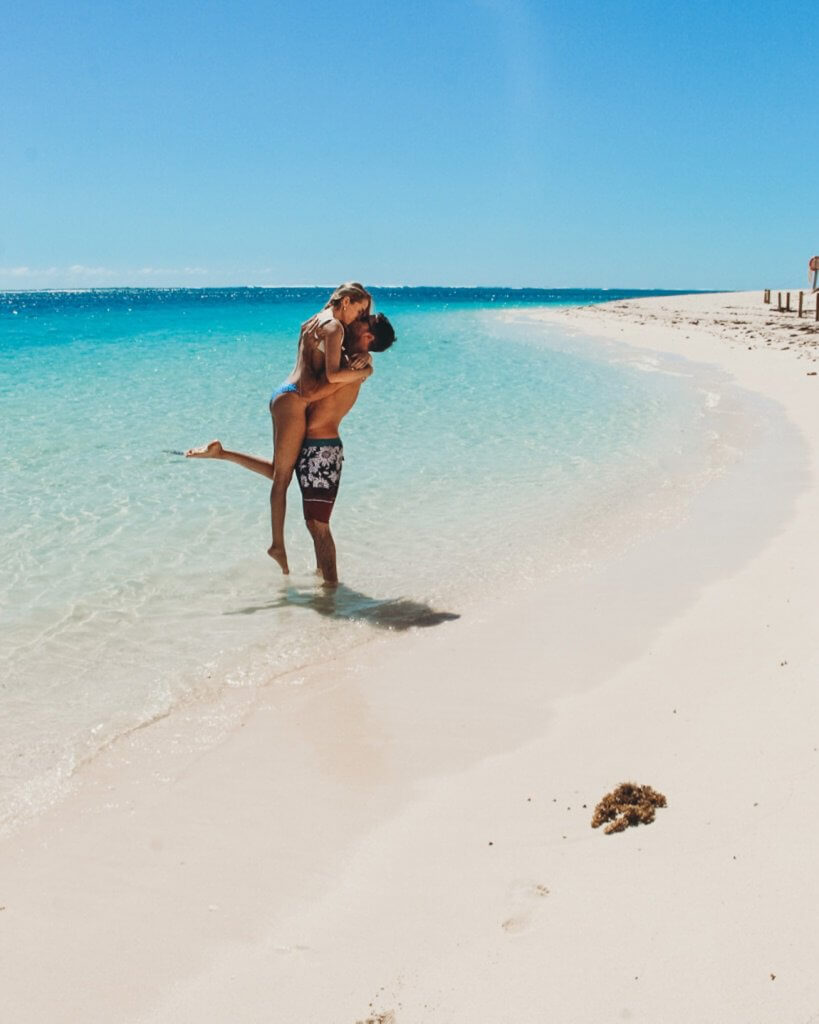 couples coordinates turquoise bay exmouth australia