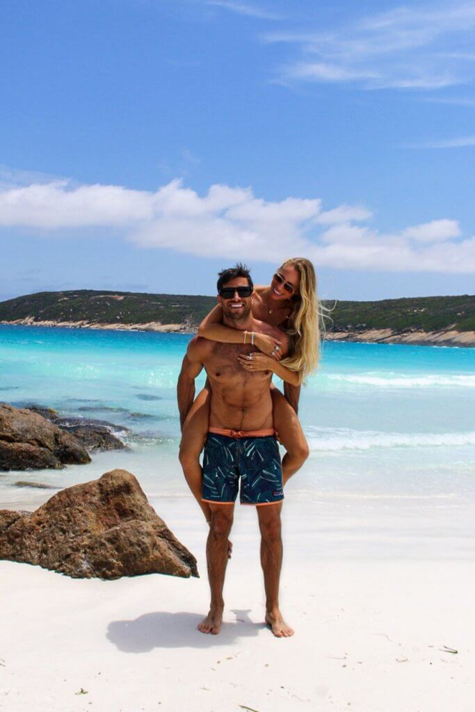 couples coordinates esperance western australia michael and alex at hellfire bay